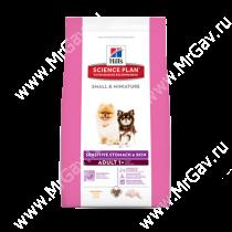 Hill's Science Plan Sensitive Stomach & Skin сухой корм для собак мелких и миниатюрных пород с курицей, 3 кг