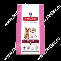 Hill's Science Plan Small & Miniature сухой корм для собак мелких и миниатюрных пород курица, 3 кг