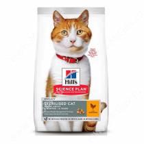 Hill's Science Plan Sterilised Cat сухой корм для кошек и котят от 6 месяцев курица, 10 кг