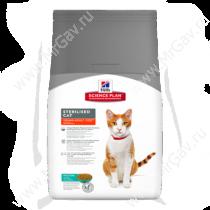 Hill's Science Plan Sterilised Cat сухой корм для кошек и котят от 6 месяцев с тунцом, 8 кг
