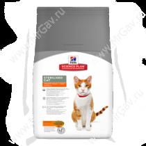 Hill's Science Plan Sterilised Cat сухой корм для кошек и котят курица, 1,5 кг