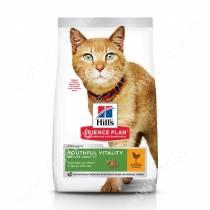 Hill's Science Plan Youthful Vitality сухой корм для кошек старше 7 лет с курицей и рисом