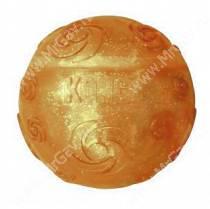 Хрустящий мячик Kong Squezz Crackle, большой, оранжевый