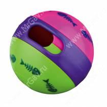 Игрушка для кошек под лакомства мяч Trixie, 6 см