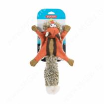 Игрушка для собак Zolux белка-летяга, 38 см, оранжевая