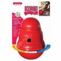 Интерактивная игрушка Kong Wobbler, средняя