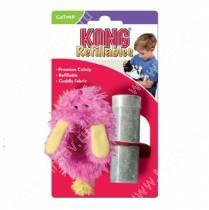 Игрушка для кошек Kong  Тапочек с тубом кошачьей мяты