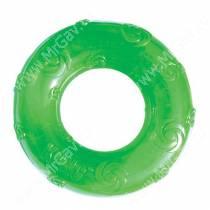 Кольцо Kong Squeezz, большое, зеленое