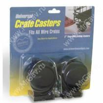 Колеса для клеток Midwest Universal Crate Caster, универсальные, 2 шт.