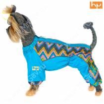 Комбинезон для собак с подкладкой Радуга, кобель-1