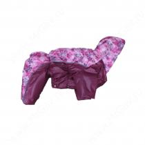 Комбинезон синтепоновый OSSO, девочка, 30 см, розовый