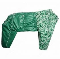 Комбинезон синтепоновый OSSO, мальчик, 45 см, модель 2, зеленый