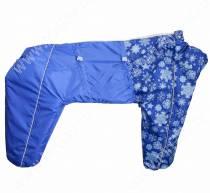 Комбинезон синтепоновый OSSO, мальчик, 55 см, модель 2, синий