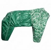 Комбинезон синтепоновый OSSO, мальчик, 60 см, модель 1, зеленый