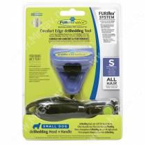 Комбо против линьки FURminator FURflex (фурминатор + ручка) для собак мелких пород