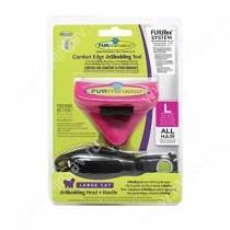 Комбо против линьки FURminator FURflex (фурминатор + ручка) для больших кошек