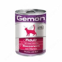 Консерва Gemon Cat (Кусочки говядины)