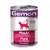 Консерва Gemon Cat (Паштет говядина), 415 г