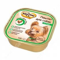 Консерва Мнямс для взрослых собак с курицей, 150 г