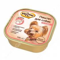 Консерва Мнямс для взрослых собак с ягненок, 150 г