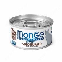 Консерва Monge Cat Monoprotein (Хлопья из буйвола), 80 г