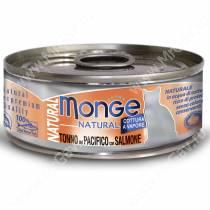 Консерва Monge Cat Natural (Тунец с лососем)