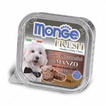 Консерва Monge Dog Fresh (Говядина), 100 г