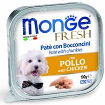Консерва Monge Dog Fresh (Курица), 100 г