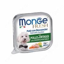Консерва Monge Dog Fresh (Курица с овощами)