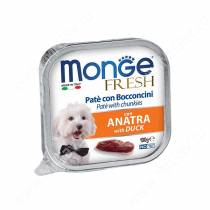 Консерва Monge Dog Fresh (Утка), 100 г