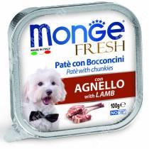 Консерва Monge Dog Fresh (Ягненок), 100 г