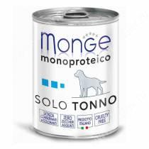 Консерва Monge Dog Monoproteico Solo (Паштет из тунца), 400 г