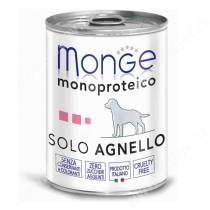 Консерва Monge Dog Monoproteico Solo (Паштет из ягненка), 400 г