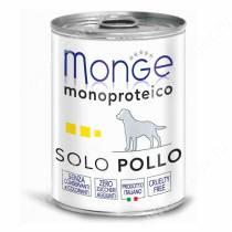 Консерва Monge Dog Monoproteico Solo (Паштет из курицы), 400 г