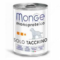 Консерва Monge Dog Monoproteico Solo (Паштет из индейки), 400 г