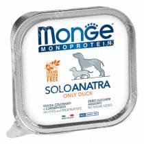 Консерва Monge Dog Monoproteico Solo (Паштет из утки)