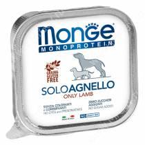 Консерва Monge Dog Monoproteico Solo (Паштет из ягненка)