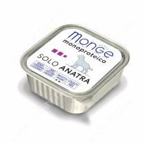 Консерва Monge Dog Monoproteico Solo (Паштет из утки), 150 г