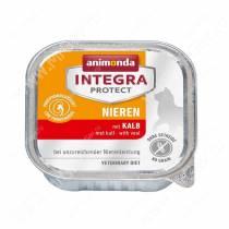 Консервы Animonda Integra Protect Cat Nieren (при хронической почечной недостаточности), с телятиной, 100 г