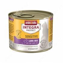 Консервы Animonda Integra Protect Cat Sensitive (при пищевой аллергии), с ягненком и рисом