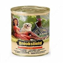 Консервы Brooksfield Dog Adult, говядина и индейка, 400 г