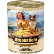 Консервы Brooksfield Dog Adult, говядина и рис, 400 г