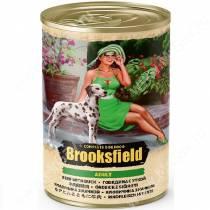 Консервы Brooksfield Dog Adult, говядина и утка, 400 г