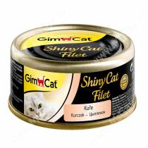 Консервы для кошек GimCat ShinyCat Filet из цыпленка