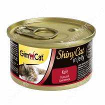 Консервы для кошек GimCat ShinyCat из цыпленка
