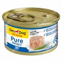 Консервы для собак GimDog Pure Delight из тунца