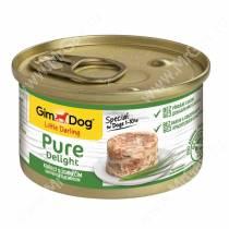 Консервы для собак GimDog Pure Delight из цыпленка с ягненком