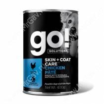 Консервы для собак GO! Skin&Coat Курица, 400 г