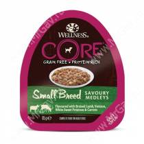 Консервы для собак Wellness Core Small Breed из баранины с олениной