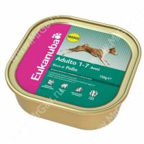 Консервы Eukanuba для взрослых собак с курицей, 150 г